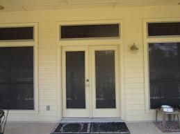 Screen For Patio Door Swing Doors Solar Screen Patio Doors Solar Screens By Josh