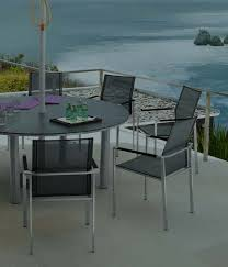 Steel Patio Table Stainless Steel Patio Furniture Outdoor Goods