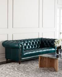 Teal Chesterfield Sofa Massoud Davidson 94 Tufted Seat Chesterfield Sofa