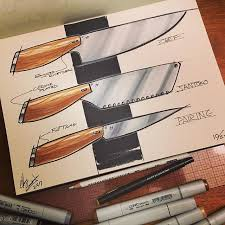 designer kitchen knives 60 best sketches products images on sketches