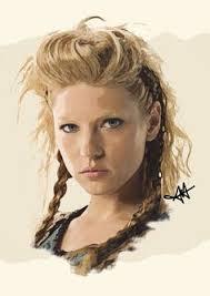 viking anglo saxon hairstyles lagertha diego schirinzi queens pinterest lagertha and vikings