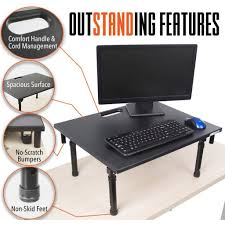 Stand Computer Desk by Stand Steady Standing Desks Converters Sit Stand Desk U0026 Accessories