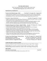 Sample Freelance Resume by 22 Social Media Manager Resume Samples Vinodomia