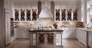Kitchen Cabinets Glass Doors Popular Kitchens Great Tinted Glass Doors On The Kitchen Cabinets