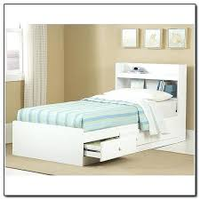 twin storage bed furniture storage bed with bookcase headboard