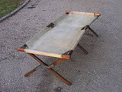 Folding Camp Bed Camp Bed Wikipedia