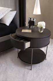 Storage Side Table by Ravishing Round Bedside Tables Ideas For Your Room Home Furniture