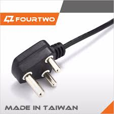 pse approved 110v ac power cord 2 pin japan plug with ground wire