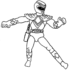 power ranger free coloring page wecoloringpage