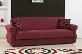 Kebo Futon Sofa Bed Furniture Purple Fabric Kebo Futon Sofa Bed For Living Room