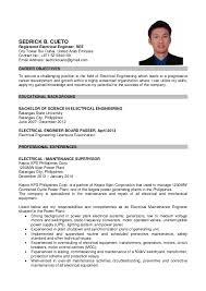 Job Apply Resume by Curriculum Vitae Sample For Nurses Philippines Contegri Com