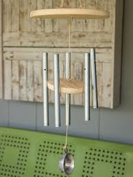 make your own wind chimes hgtv