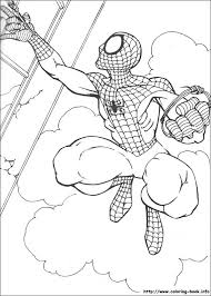 spiderman printable coloring kid stuff