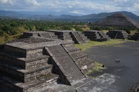 Teotihuacan Map Teotihuacan Oaxaca Cultural Navigator Norma Schafer