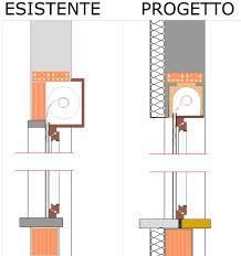 ponte termico davanzale scienziato preoccupato casa con cappotto occhio ai cassonetti