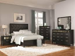 Budget Interior Design by Padded Headboard Bedroom Sets Home Interior Design Ideas