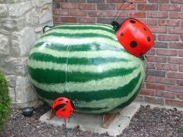 Backyard Grill Refillable Propane Tank by Forever Decorating Watermelon Propane Tank Garden Yard Art