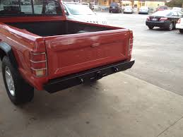 1988 jeep comanche white comanche front and rear bumpers no welding required vendors