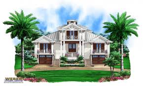 apartments waterfront house plans coastal home plans story