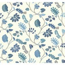 Waverly Home Decor by York Wallcoverings Waverly Small Prints A New Leaf Wallpaper