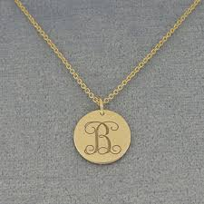 white gold initial disc necklace shop 14k gold initial disc necklace on wanelo