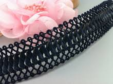 navy lace ribbon popular wide navy lace trim buy cheap wide navy lace trim lots