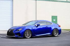 lexus rcf blue lexus rcf on iss forged spec b rw 10 wheels iss forged