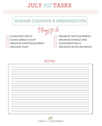 Garage Organization Categories - garage organization and cleaning july hod clean and scentsible