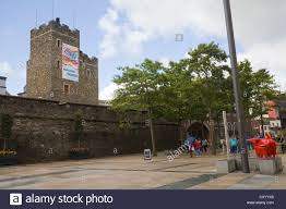 derry city londonderry northern ireland tower museum in city walls