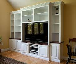 Shelves For Cabinets Inside Like How The Tv Part Is Slightly Lower In This Set Of Built Ins