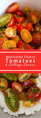 Cottage Cheese Recipes Healthy by Marinated Cherry Tomatoes With Cottage Cheese Sundaysupper