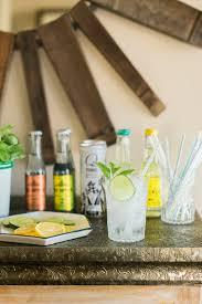 how to set up a diy gin u0026 tonic bar