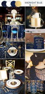 midnight blue wedding band 8 stunning wedding colors in shades of gold for 2017 brides