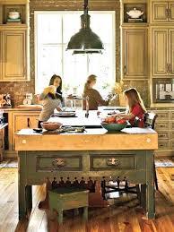 antique french butcher table ergonomic vintage kitchen island table boldventure info