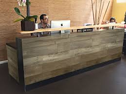 How To Build Reception Desk by Reception Desks For Offices Custom Reception Counters