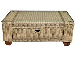 white wicker end table wicker coffee table with drawers wicker coffee table indoor indoor