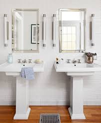 Pictures Of Pedestal Sinks In Bathroom by Bathroom Remodel In Fresh Vintage Style Midwest Living