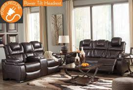 Power Reclining Sofa And Loveseat Sets 2 Pc Labarre Power Reclining Sofa Set 81403
