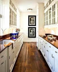 Narrow Galley Kitchen White Galley Kitchen Designs Caruba Info