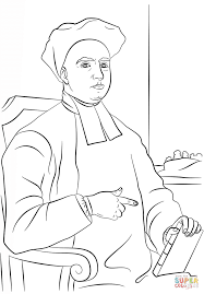 george berkeley coloring page free printable coloring pages