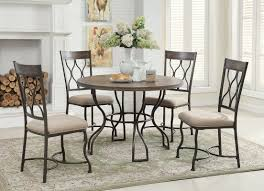 darby home co baye 5 piece dining set u0026 reviews wayfair