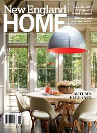 new england kitchen design new england home september october 2017 by new england home