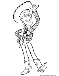 printable toy story 3 woody coloring pages kidsfree printable