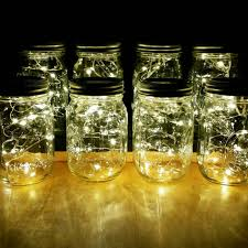 jar center pieces sale 8 firefly lights and jar centerpieces wedding