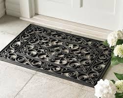 fleur de lys rubber doormats and stair treads williams sonoma
