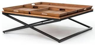 square tray for coffee table awesome tray coffee table tray top coffee tables houzz facil furniture
