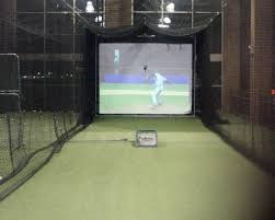 Basement Batting Cage by Leisure