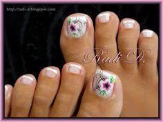 cute flower toe nail art nail art designs pinterest flower