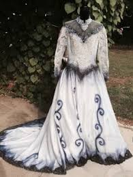 Corpse Bride Halloween Costume Corpse Bride Halloween Dress Gown Costume Emily Ooak Hand