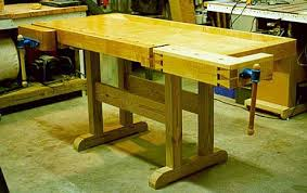 Building Woodworking Bench Woodproject